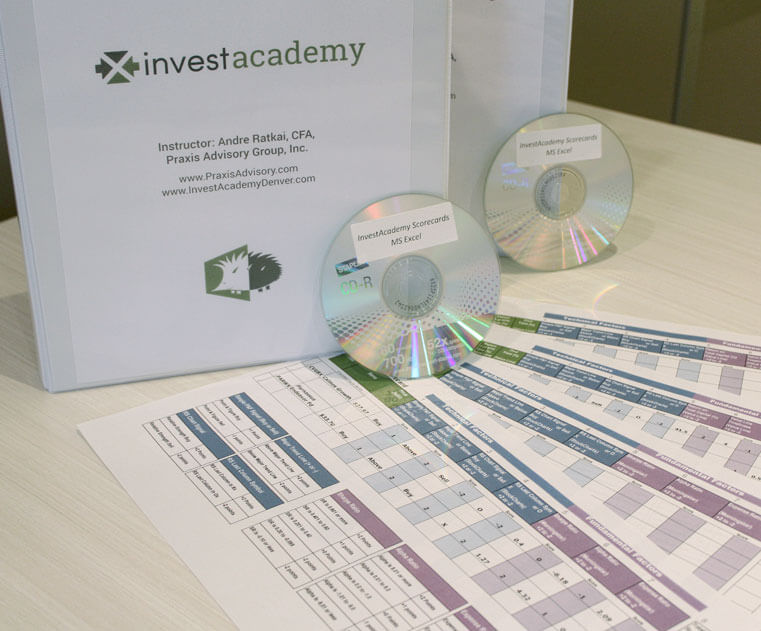 InvestAcademy Registration Workbook Materials
